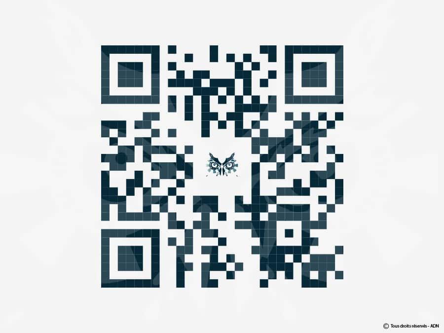 QR Code vectorisé