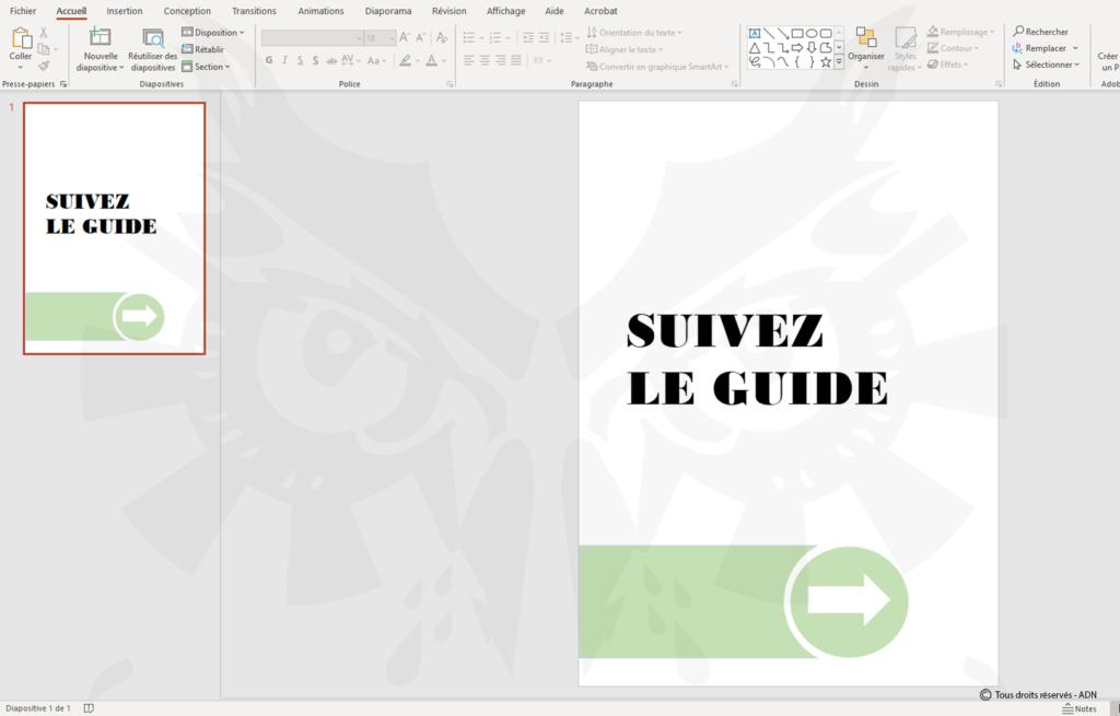 Enregistrer votre fichier au format PDF, nous nous chargerons d'ajouter les traits de coupe.